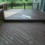 power washing deck manitenance
